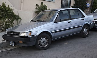Toyota Corolla (E80) Motor vehicle