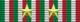 Medaglia ricordo della guerra 1915-1918 (2 anni di campagna) - nastrino per uniforme ordinaria