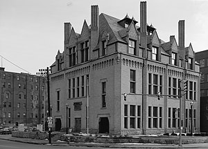 Johnstown, Pennsylvania - The Carnegie Library, now the Johnstown Flood Museum