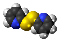 Space-filling model of the DPS molecule