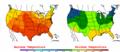 2002-09-06 Color Max-min Temperature Map NOAA.png
