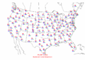 2002-09-13 Max-min Temperature Map NOAA.png