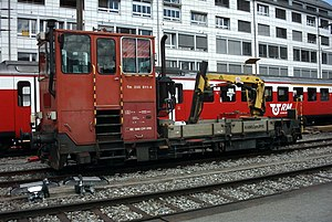 SBB Tm 235 011 in Thun