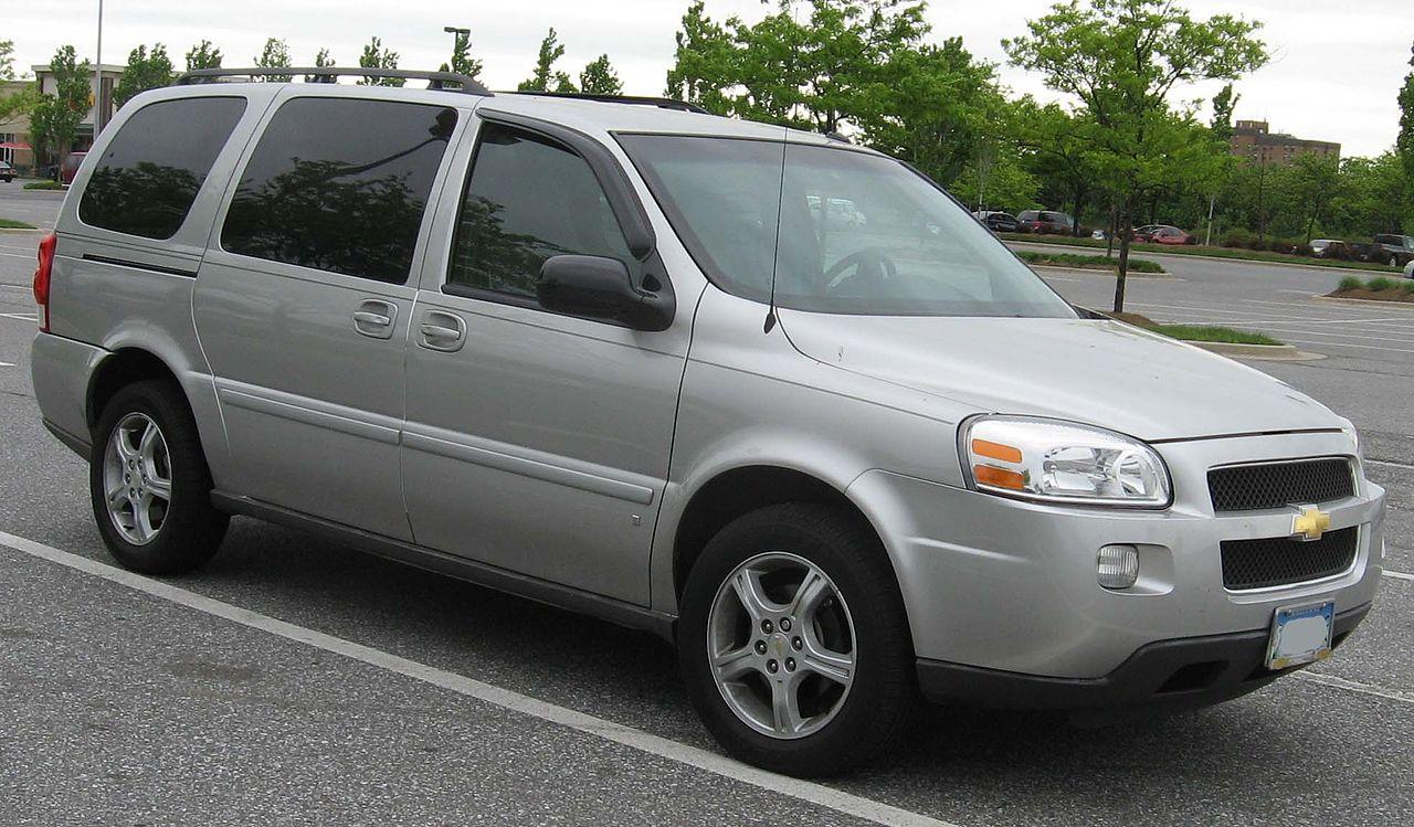 All Chevy chevy 2005 : File:2005-07 Chevrolet Uplander.jpg - Wikimedia Commons
