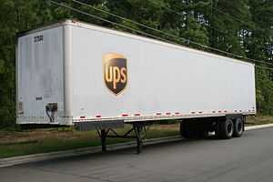 Semi-trailer - Image: 2008 08 02 UPS long trailer 1