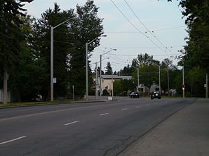 Grovenor, Edmonton - Stony Plain Road passes through the neighbourhood