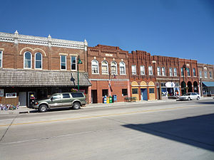Pine Island, Minnesota - Downtown and post office