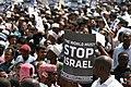 2009 Anti Israel Protest Tanzania.JPG