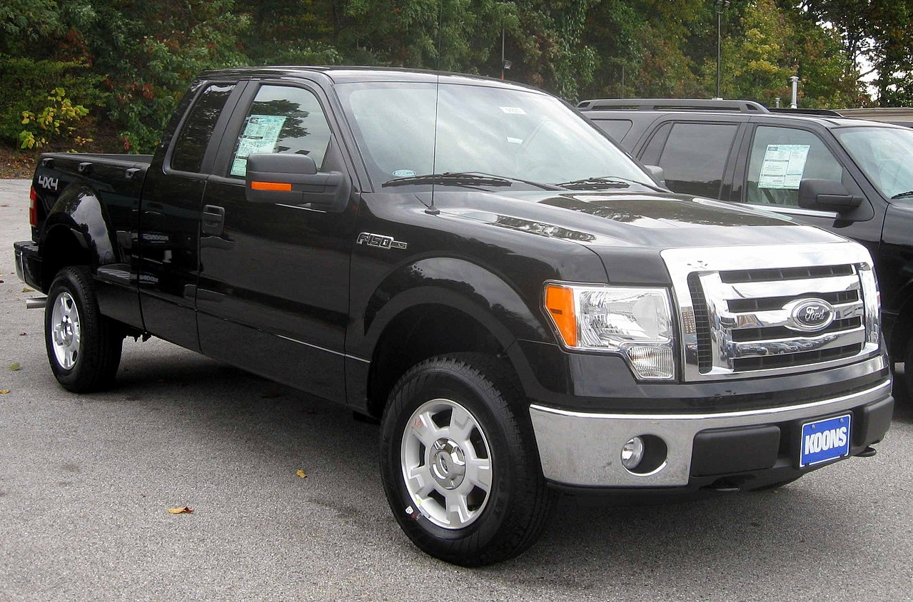File:2009 Ford F-150 XLT.jpg - Wikimedia Commons
