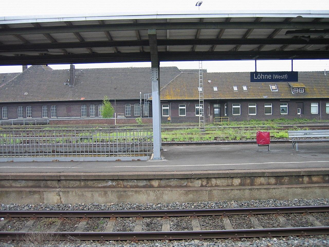 Bahnhof L Hne file 2010 05 11 löhne hbf 10 jpg wikimedia commons