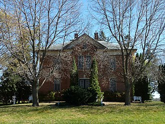 National Register of Historic Places listings in Dodge County, Minnesota - Image: 2010 1025 Ole Carlson House