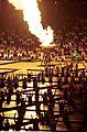 201000 - Opening Ceremony athletics competitor Louise Sauvage flame lighting 9 - 3b - 2000 Sydney opening ceremony photo.jpg