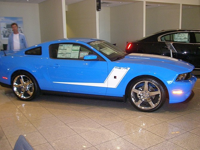 English: 2010 Ford Mustang. Rousch Edition in ...