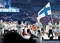 2010 Olympic Winter Games Opening Ceremony - Finland entering cropped.jpg