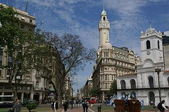 Avenida Presidente Julio Argentino Roca - Diagonal Sur
