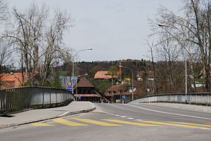 Neuenegg - Bridge over the Sense river in Neuenegg