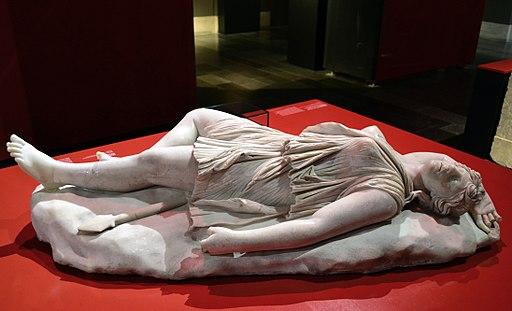 201209071728b Berlin Pergamon Museum, Tote Amazone, 98-138, Rom