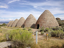 2014-08-11 16 11 24 Ovens in Ward Charcoal Ovens State Historic Park.JPG