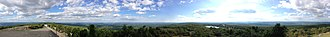High Point (New Jersey) - Image: 2014 08 28 16 34 01 Full 360 degree panorama from High Point, New Jersey
