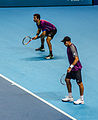 2014-11-12 2014 ATP World Tour Finals Horia Tecua and Jean-Julien Roger by Michael Frey.jpg
