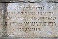 2014 Ruine und Gedenkstein zur goldenen Hochzeit von Johann und Amalia 1872 bei Pillnitz (6).jpg