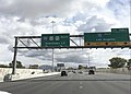 2015-11-04 11 05 42 View south along U.S. Route 95 at Exit 77 (Rancho Drive) in Las Vegas, Nevada.jpg