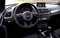2015 Audi Q3 2.0 TDI quattro Facelift Typ 8U Interieur Cockpit Innenraum.jpg