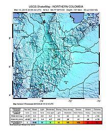 Terremoto de Colombia de 2015  Wikipedia la enciclopedia libre