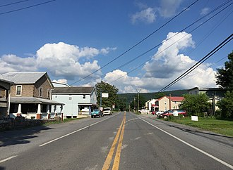 Great Cacapon, West Virginia - WV 9 through Great Cacapon