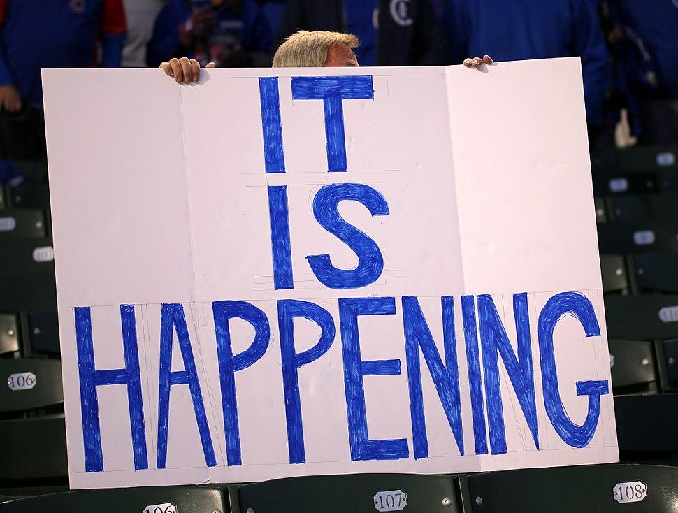 2016-10-22 Cubs fans It is happening