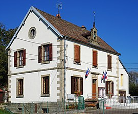 The town hall in Palante