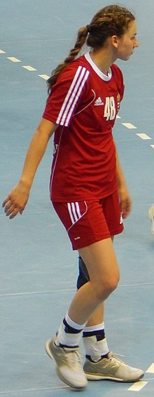 2016 Women's Junior World Handball Championship - Group A - HUN vs NOR - Dorottya Faluvégi.jpg
