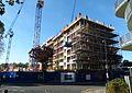 2016 Woolwich, Trinity Walk, construction site 16.jpg