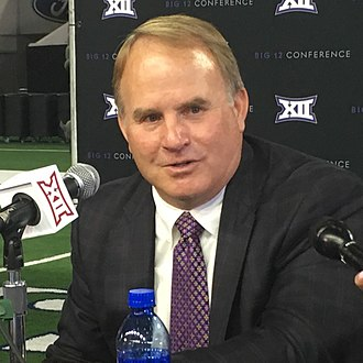 Gary Patterson - Patterson at 2017 Big 12 Media Days