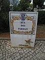 2017-09-27, Street name sign, Rua dos Pardais, Albufeira.JPG