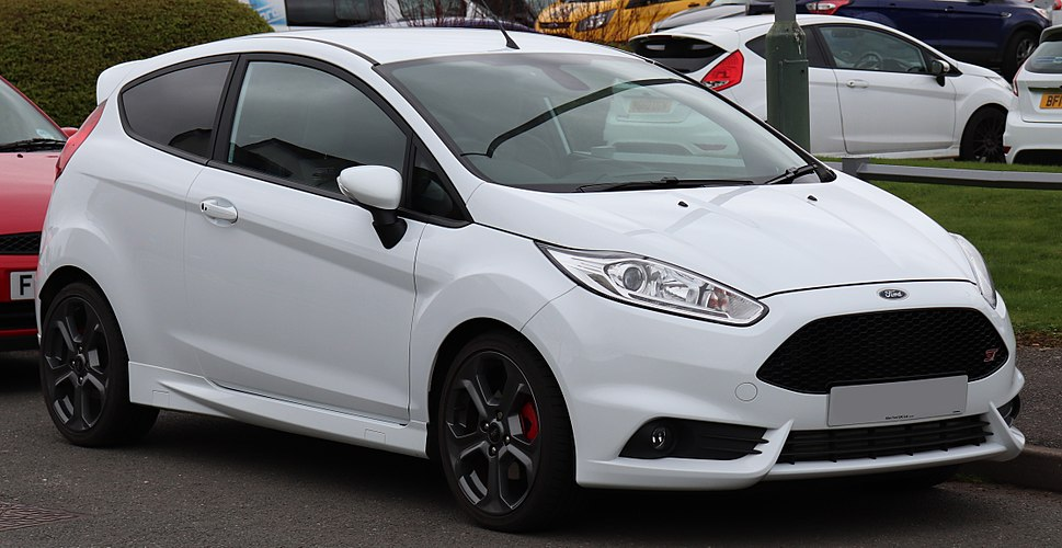 2017 Ford Fiesta ST-3 Turbo 1.6 (1) Front