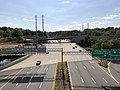 2019-10-09 14 50 47 View south along Virginia State Route 241 (Telegraph Road) from the ramp from northeastbound Interstate 95-495 to northbound Virginia State Route 241 on the edge of Rose Hill and Huntington in Fairfax County, Virginia.jpg