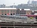 207th Street Yard Train of Many Colors.JPG