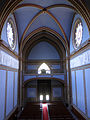210 Santuari de la Misericòrdia (Canet de Mar), la nau des del cambril de la marededéu.JPG