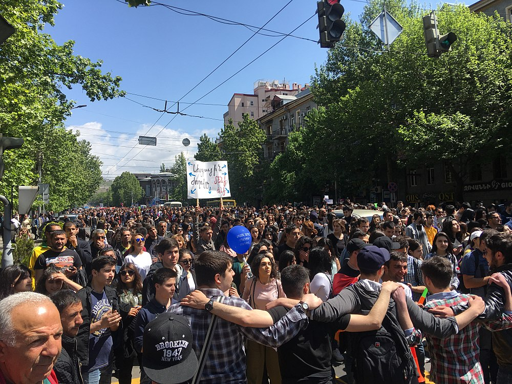 23.04.2018 Protest Demonstration, Yerevan 6.jpg