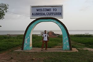 Jufureh - The Albreda-Juffure archway