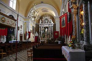 Ajdovščina - St. John the Baptist Church in Ajdovščina (interior)