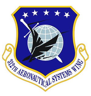 312th Aeronautical Systems Wing - Image: 312 Aeronautical Systems Wing emblem