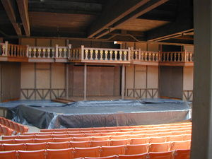 Utah Shakespeare Festival - The Adams Theater stage