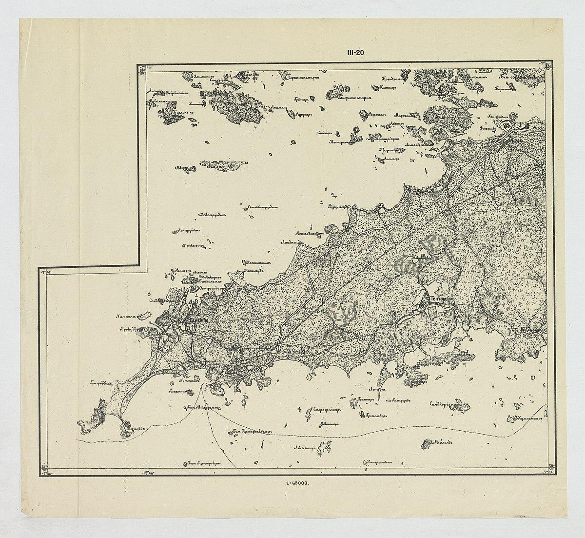 Topografinen Kartta