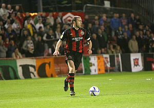 Owen Heary - Heary in action for Bohs