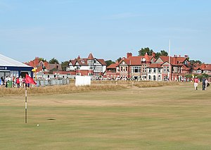 Royal Liverpool Golf Club - The 3rd hole at The Open Championship in 2006, the opening hole (Course) for club members