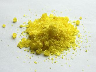 4-Nitrophenol - Image: 4 nitrophenol sample