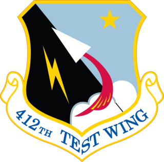 412th Test Wing Unit of the US Air Force Test Center at Edwards AFB, CA