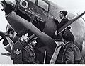 464 Squadron RAAF Ventura aircrew Methwold Jul 1943 AWM UK0312.jpg